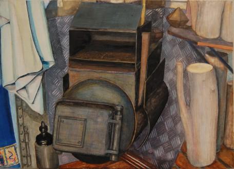Kachel 2012 21 x 31 cm, aquarel/potlood