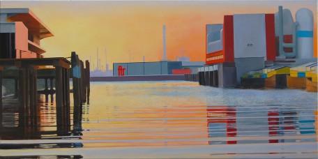 Keilehaven  2008, 190 x 95 cm, privé collectie