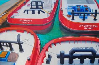 Kotug 4  2006  240 x145 cm