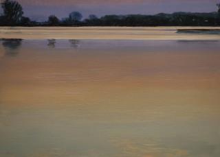 Redichemsewaard Culemborg 2013, 21 x 29 cm, oil