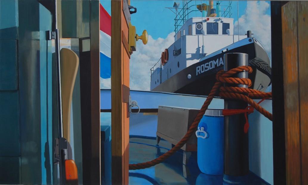 Rosomak 2010, 210 x 120 cm, olieverf/linnen