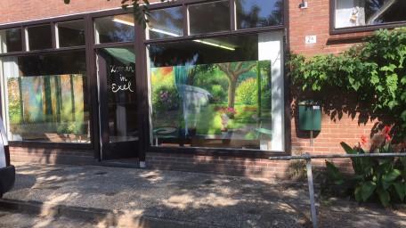 De voormalige Vivo-winkel van bakker ten Broeke in Exel.